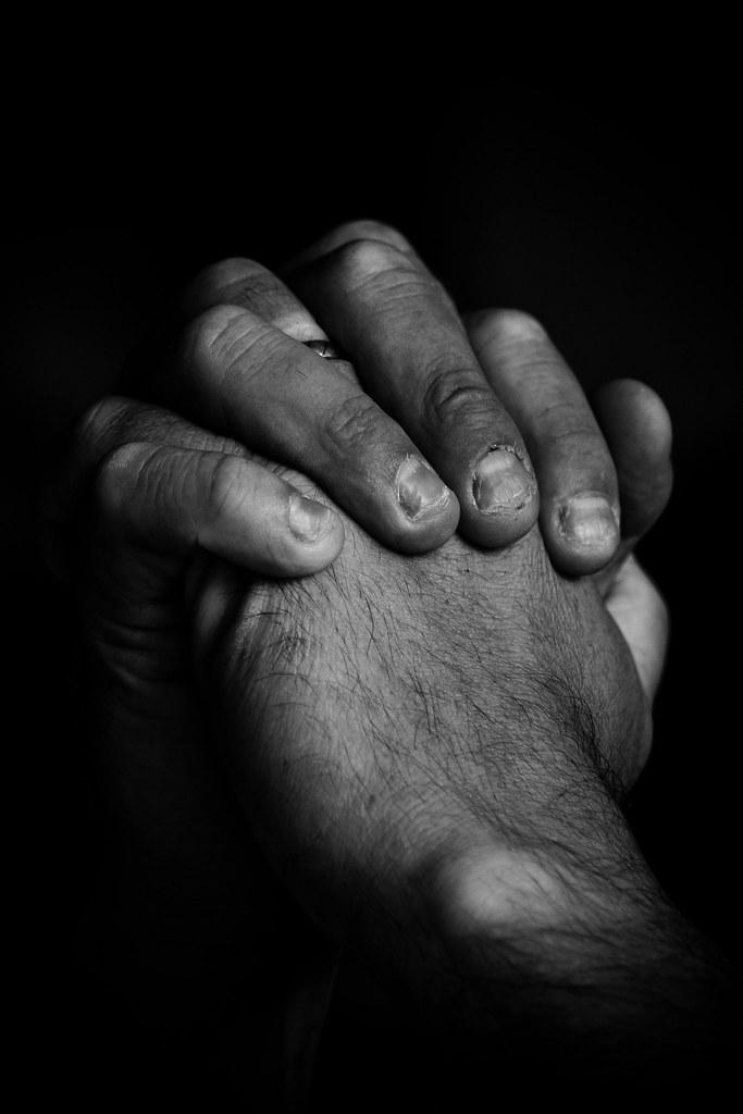 Praying hands  Dieses Bild war Teil einer Ausstellung zum