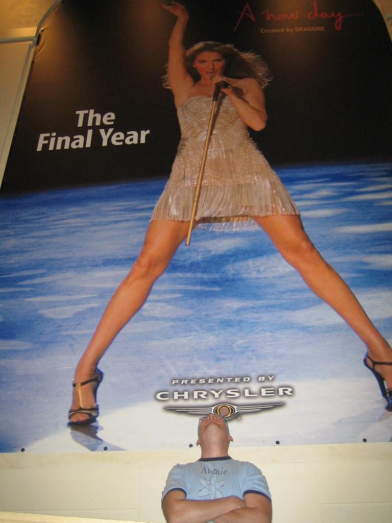 Celine Dion upskirt  Michael  Flickr
