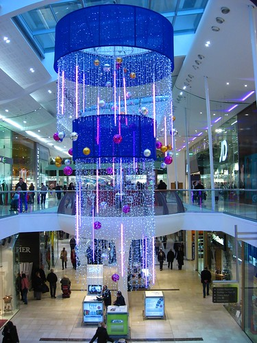 Christmas Decorations Westfield Shopping Centre Derby