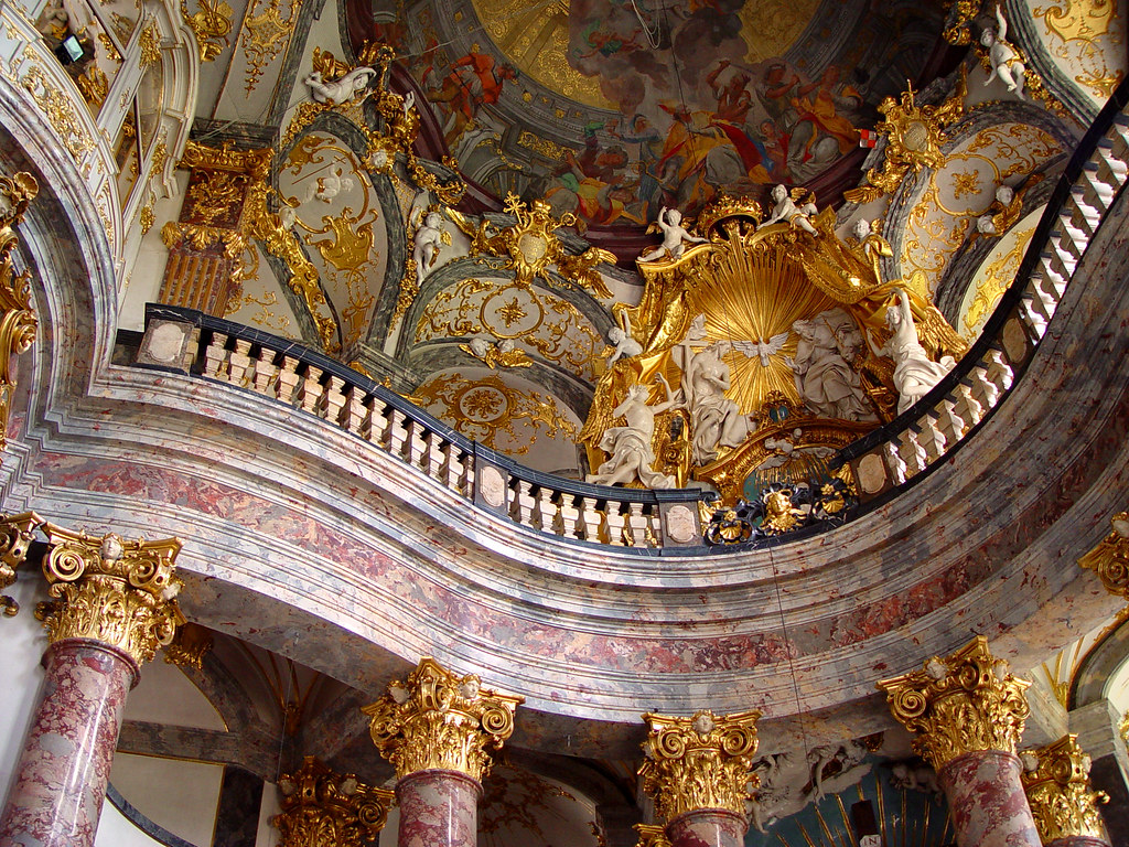 3d Modern Wallpaper Designs Hofkirche The Church Inside The Residenz Wurzburg