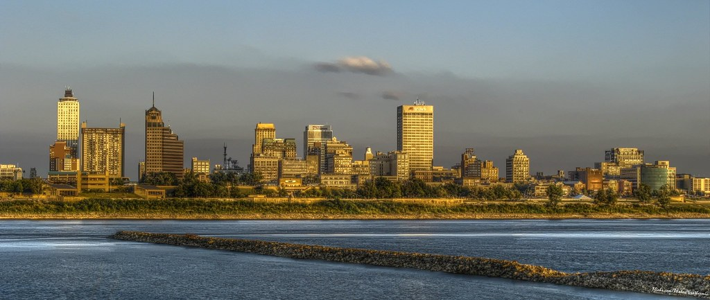 Memphis Skyline HDR Mantiuk Contrast Equalization  Flickr
