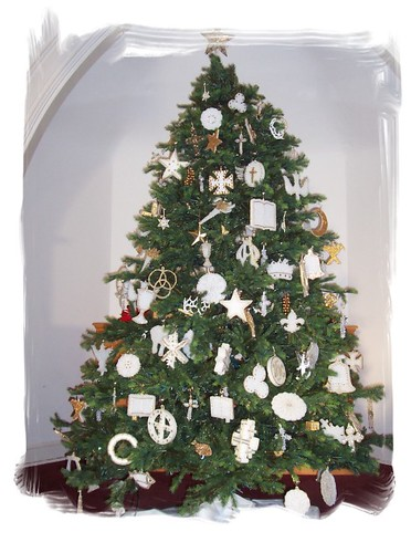 Chrismon Tree Decrations Are All Christian Symbols