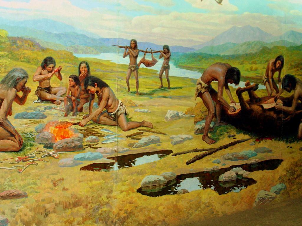 Paleolithic Museum Wall Mural Beijing