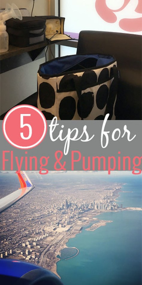 5 Tips for Flying and Pumping