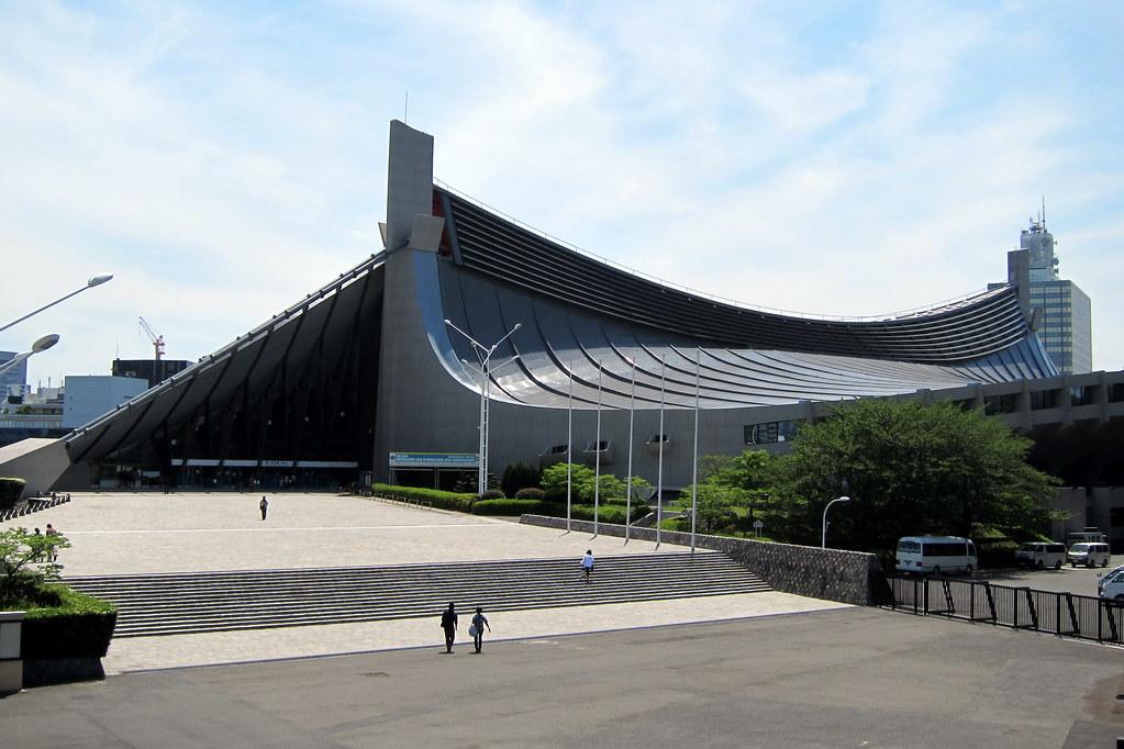 Tokyo  Harajuku Yoyogi Koen  Yoyogi National Gymnasium