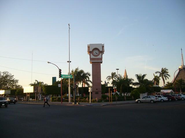 Ciudad Obregn Sonora  Vista del zcalo  Edgar Edy