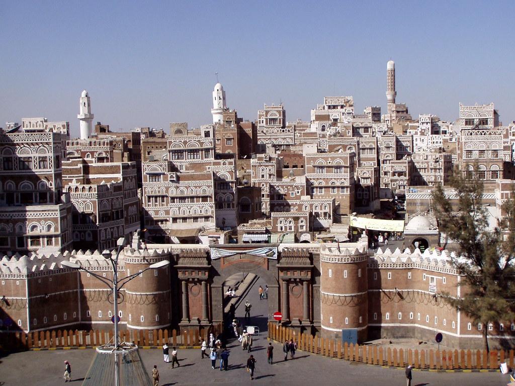 BabulYemen Sanaa  The old city of Sanaa is