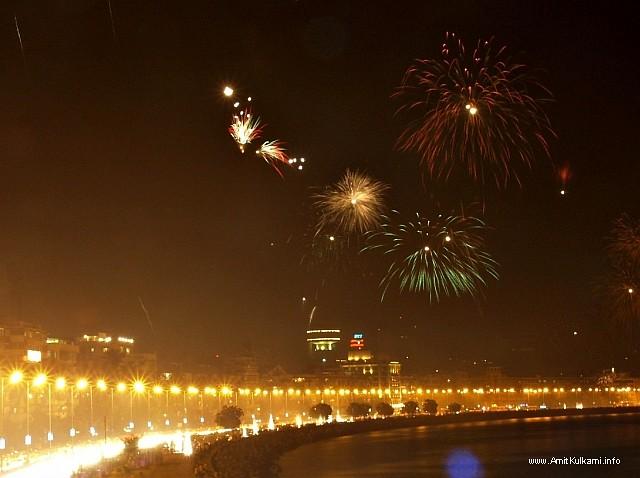 Diwali At Mumbai On Marine Drive Festival Of Lights