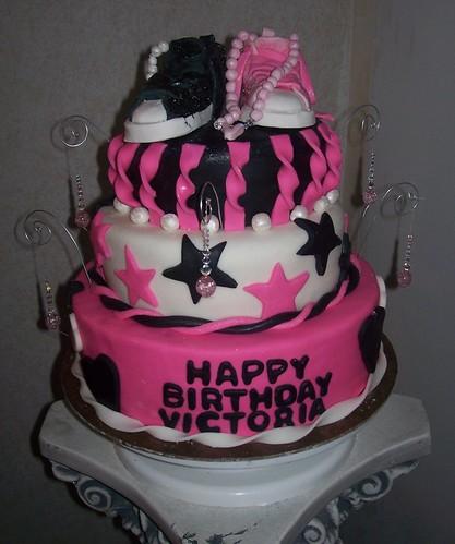 Victoria S 6th Birthday Cake My Daughters Birthday Cake