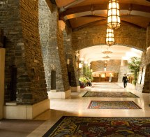 Interior Of Banff Springs Hotel