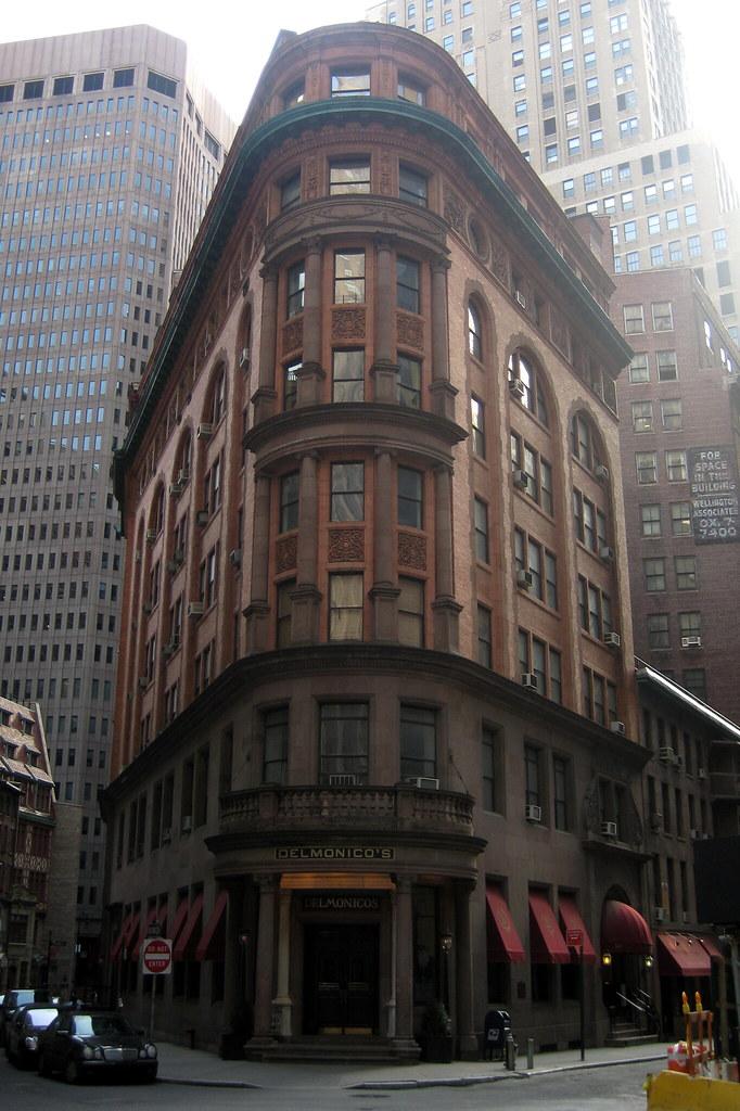 NYC  FiDi Delmonicos  Delmonicos at 56 Beaver Street