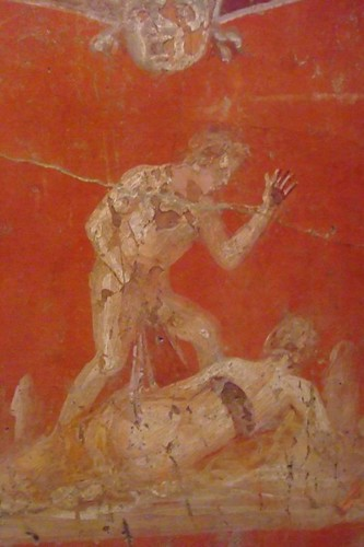 Pompeii Fresco from the Secret Room in the Museo Archaeolo  Flickr
