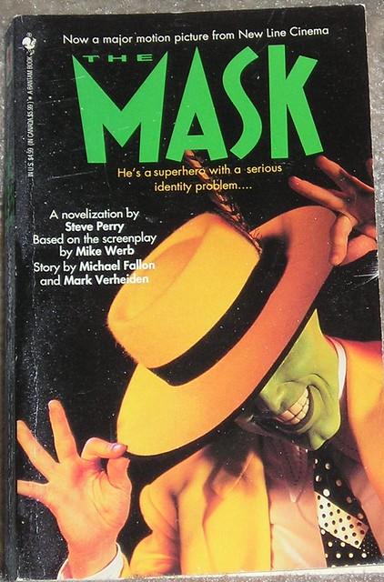The Mask 1994 movie novel  Novelization of the 1994 Jim C  Flickr