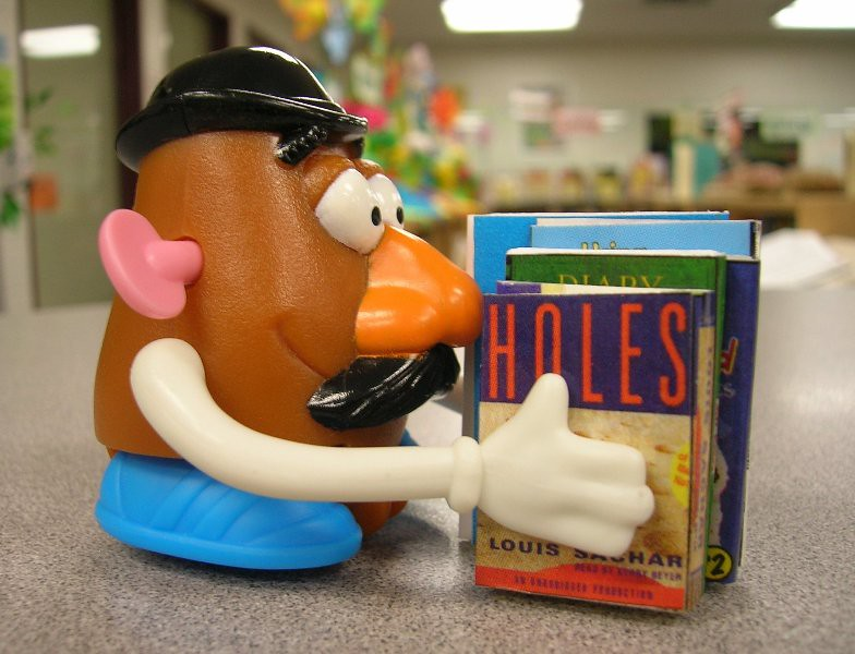 Mr Potato Head Has His Nose in a Book  As part of our