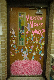Dr Seuss Birthday Door  In celebration of Dr Seuss birth  Flickr