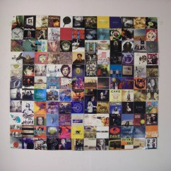 Decor For Living Room Feature Wall Ideas Uk Album Art Hanging | A Little Bit Of From My ...