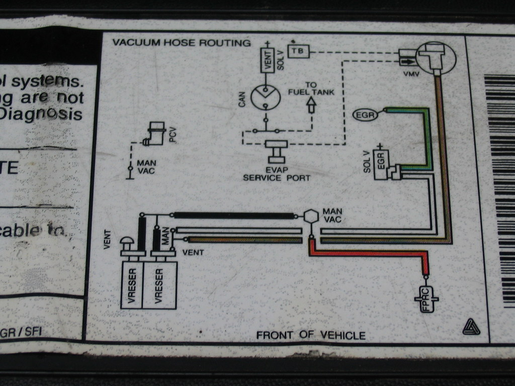 2001 Ford Expedition Vacuum Diagram