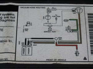97 Ford Expedition Vacuum Hose Routing Diagram | this can be… | Flickr