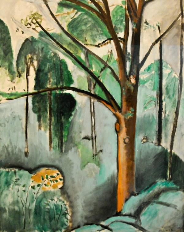 Henri Matisse - Trivaux Pond 1917 Tate Modern Art Gall