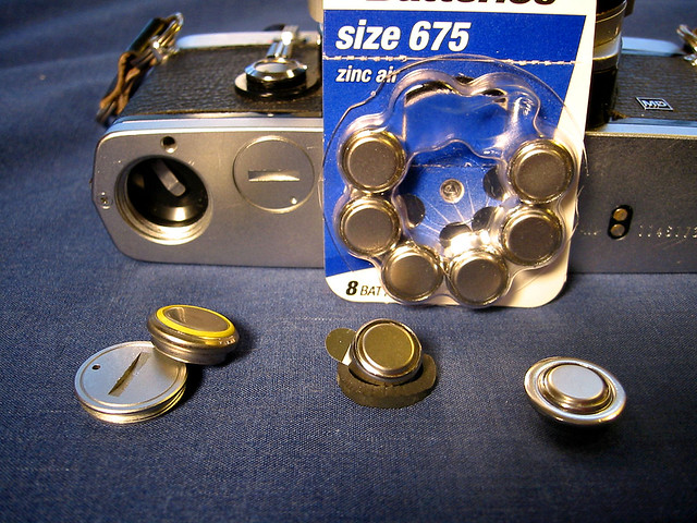 Mercury Battery Replacement  A lot of old cameras and