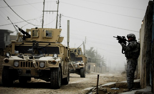 Iraq U S Army Soldiers From Delta Company 2nd