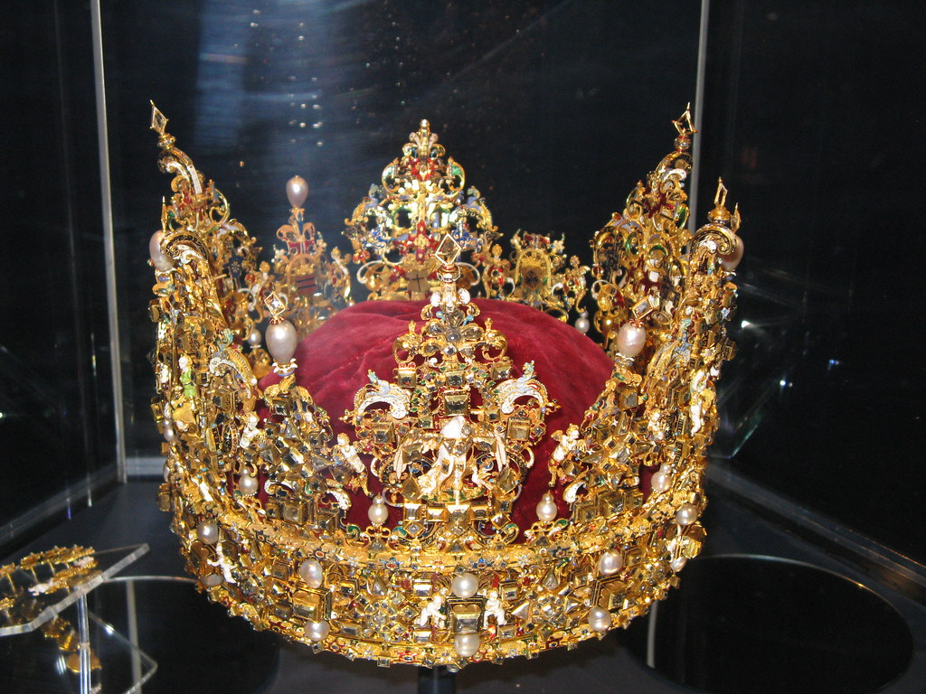 Crown Jewels  The precious objects are made of gold and