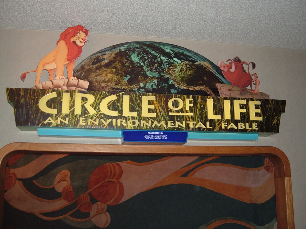 Circle of Life Show the Land Pavilion Epcot Disney World  Flickr