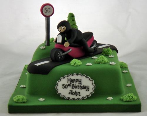 Motorbike Cake Jenny Clement Flickr