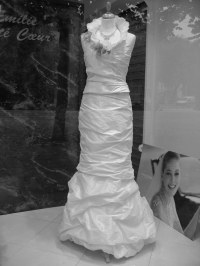 Make your own wedding dress | using plastic bags and ...