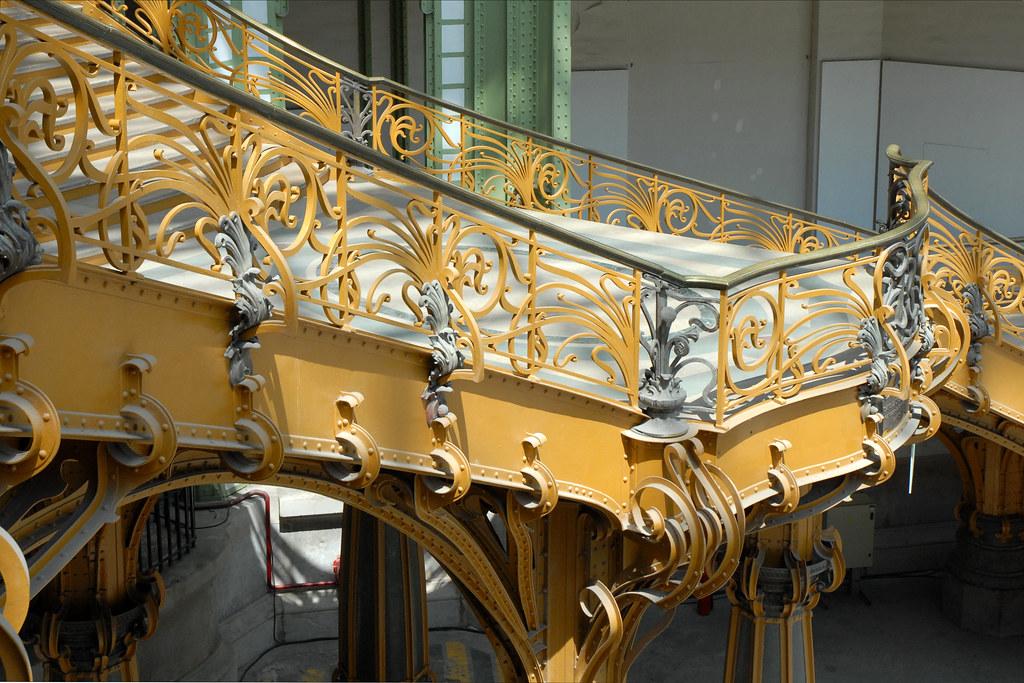 Lescalier dhonneur art nouveau de la nef du Grand Palais  Flickr