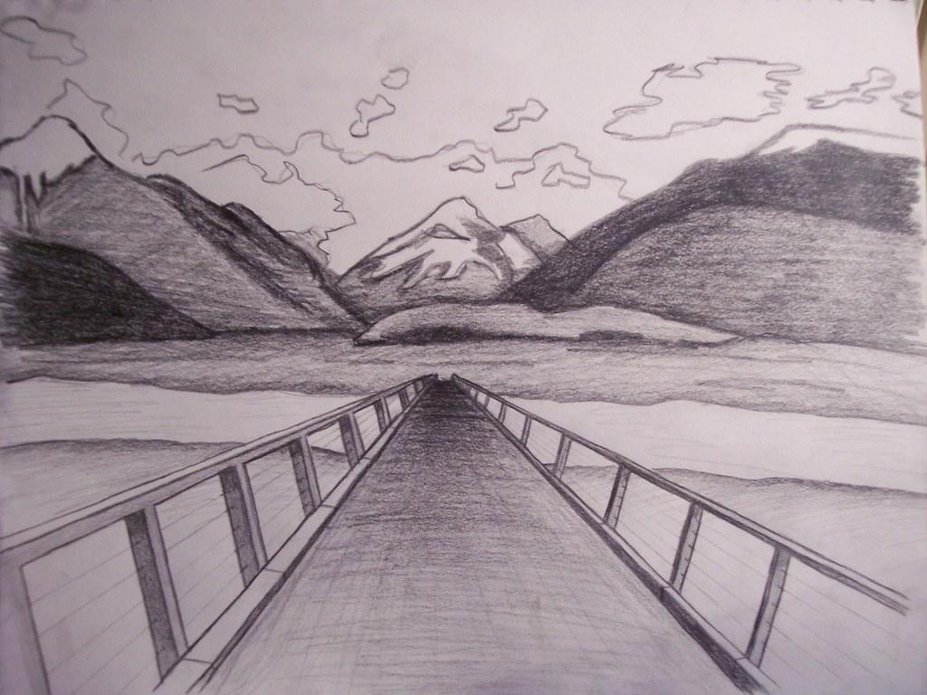 perspective drawing  Rachel  Flickr