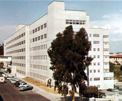 San Diego CA Old Naval Hospital Surgical Building 1955