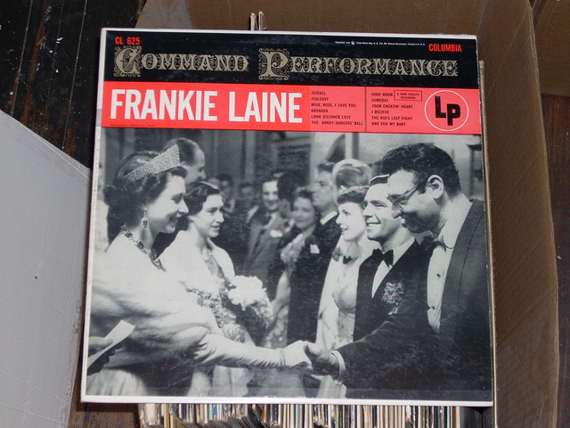 Frankie Laine Meets the Queen