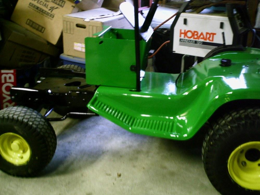 medium resolution of john deere 108 111 lawn tractors oem service manual john