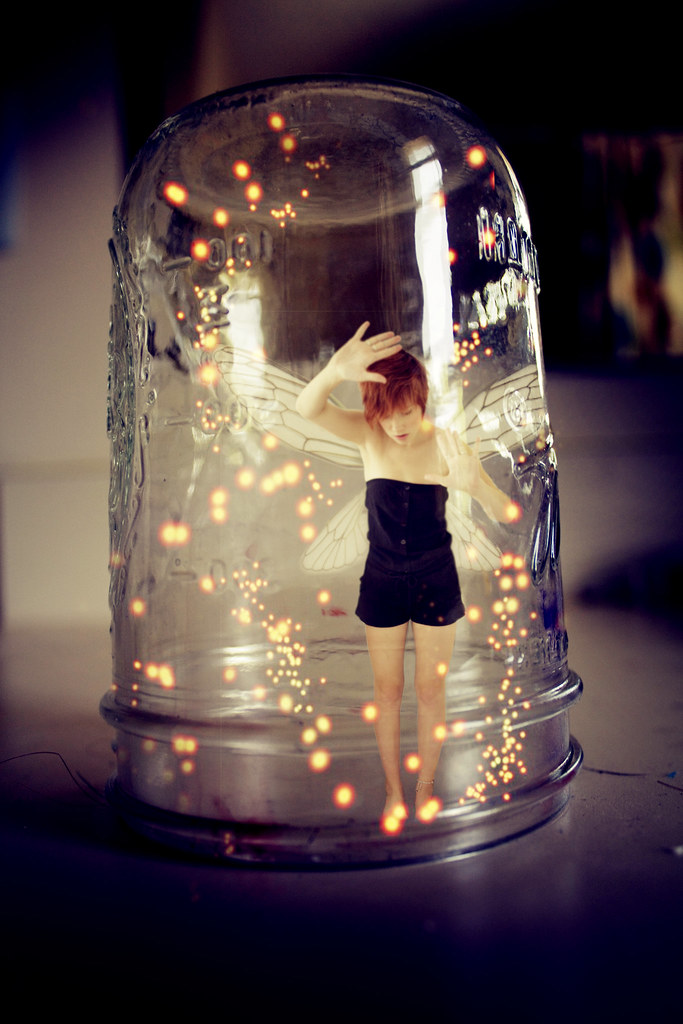 Trapped inside A fairy jar  149365 Peter Pan inspired of