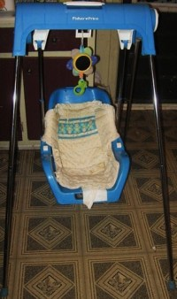 Fisher Price wind up swing, Asking $20.00