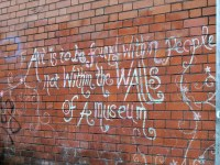 Dublin Art Saying | A saying written on a wall in Dublin ...