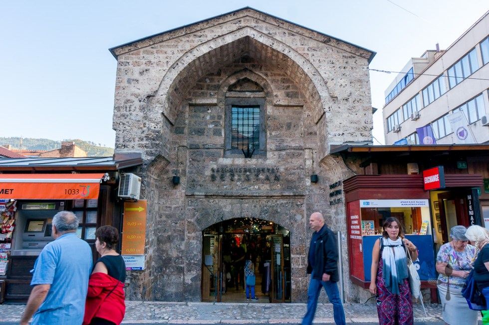 Gazi Husrev Bey's Bezistan