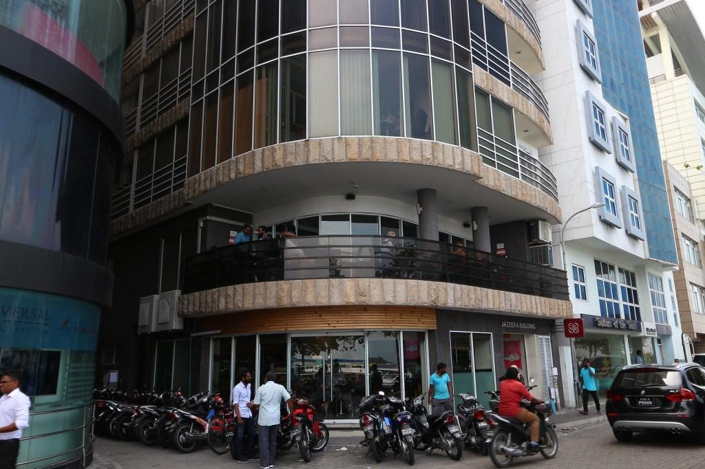 馬爾地夫首都馬列一日遊 咖啡廳