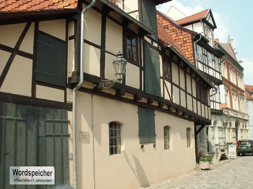 Quedlinburg Wordspeicher Aufgenommen auf einem