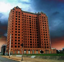 Abandoned Lee Plaza Hotel - Detroit Sadly