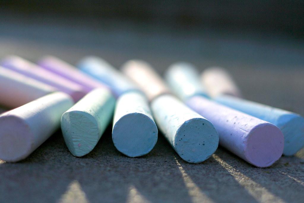 Cute Colour Wallpaper Chalk Aidan S Sidewalk Chalk John Morgan Flickr