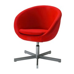 Ikea Swivel Chair Xenium Skruvsta Red Blogged On Whorange April 1 Flickr By