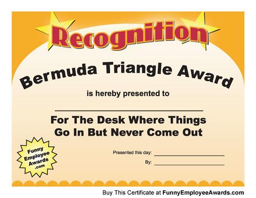 Certificate Template Mock