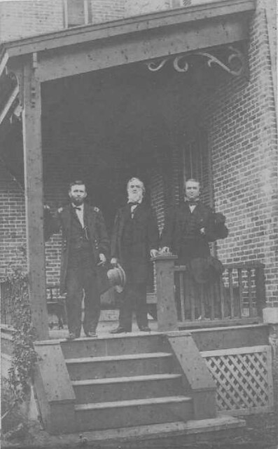 Ulysses S Grant Gideon Wells and Andrew Johnson  August
