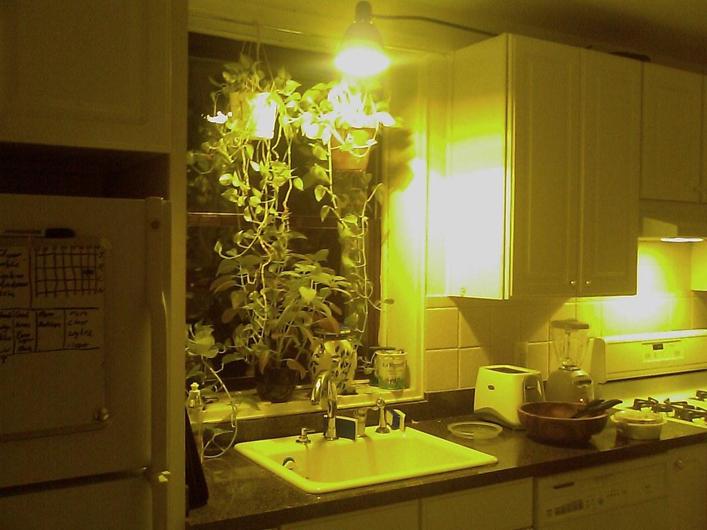 over the kitchen sink lighting tile flooring new light charlie flickr