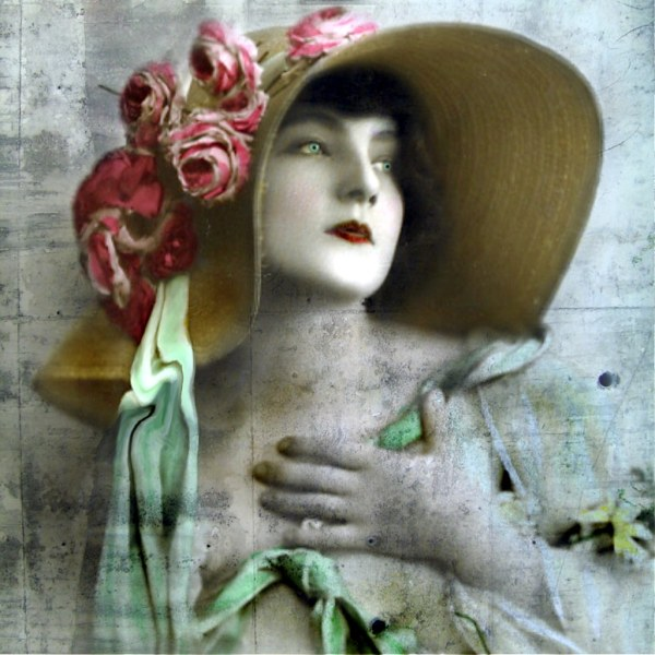 Mixed Media Altered Art Reworked Vintage -worked