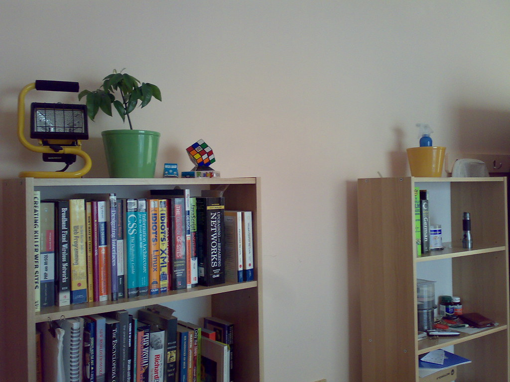 Two Ikea Quotflarkequot Bookcases The Two Flarke Bookcases In