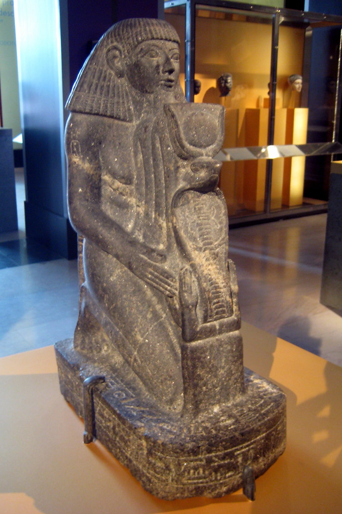 NYC  Brooklyn Museum  Kneeling Statue of Senenmut  Flickr