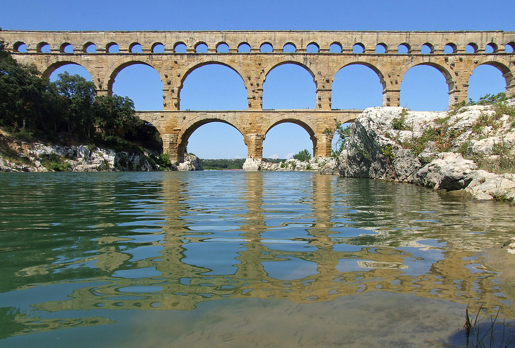 Pont du Gard Aqueduct France  The incredibly well